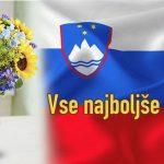 Dan državnosti - Vse najboljše Slovenija