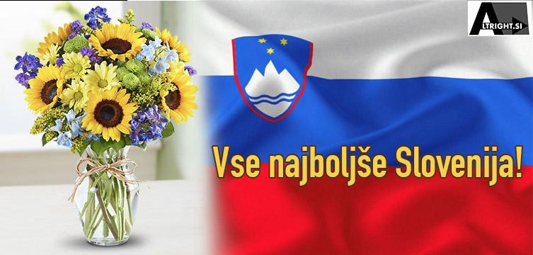 Dan državnosti – Vse najboljše Slovenija