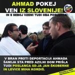 Ahmad pojdi ven iz Slovenije