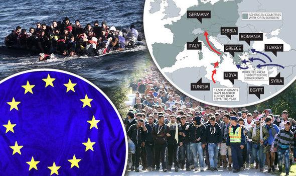 Neposredni krivci za uvoz tisočih migrantov v evropske države