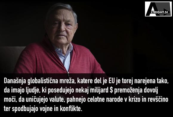 Primer George Soros: Kako danes deluje globariziran svet
