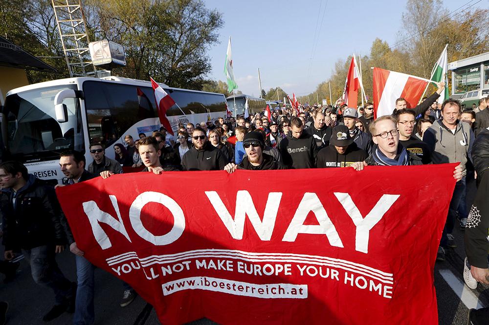Protesti, ki so ze začeli v Nemčiji zdaj tudi v Avstriji