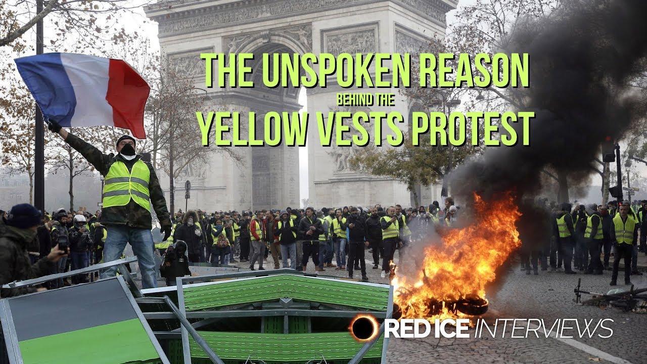 Upor rumenih telovnikov v Franciji je zgodovinski!