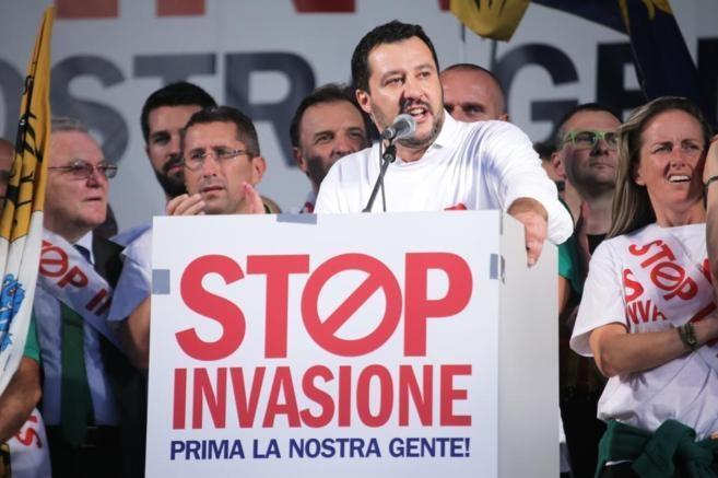 Salvini zajezil nezakonite vstope v Italijo